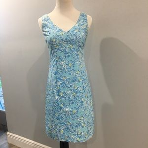 Lilly Pulitzer Kiss the Cook Blue Dress